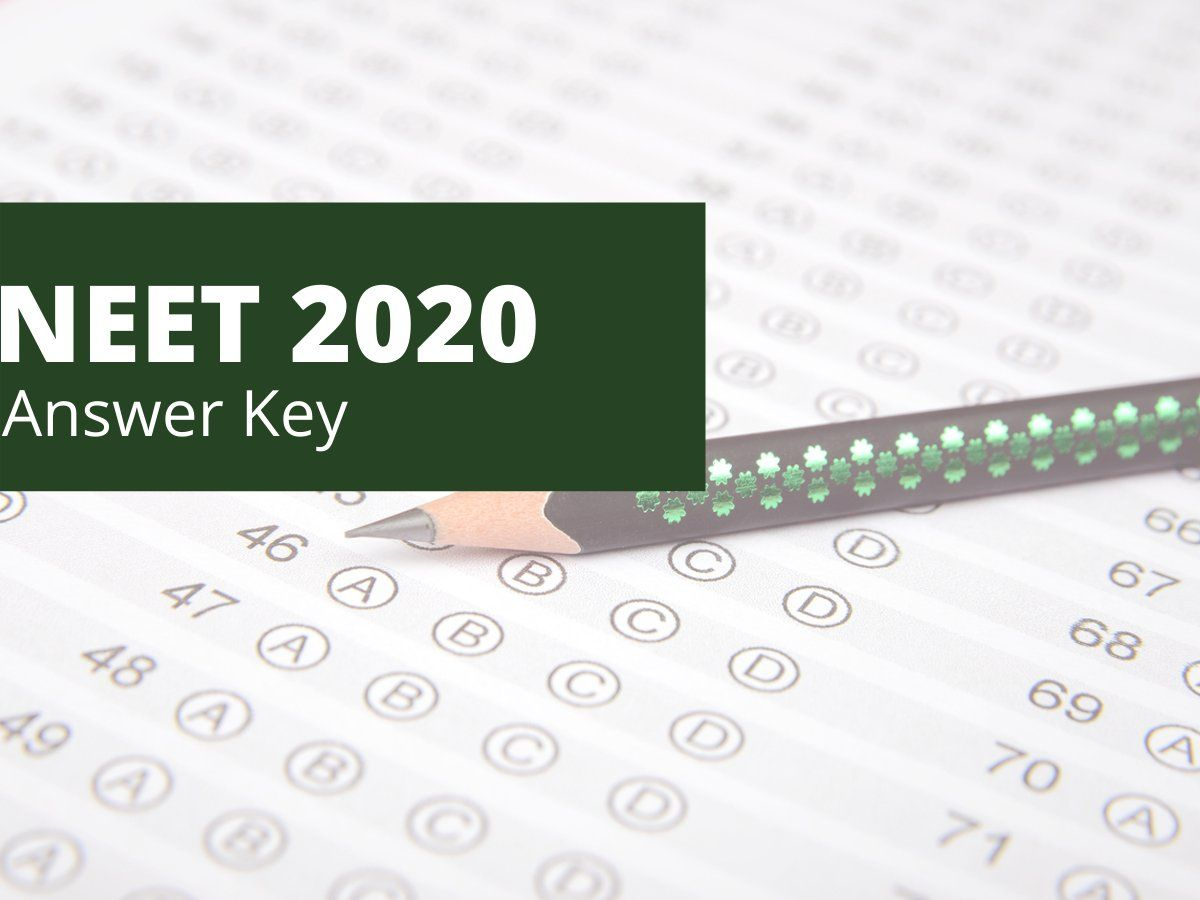 NEET 2020 Answer Key Question Paper NTA UV Gullas College of Medicine